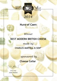 best modern british cheese